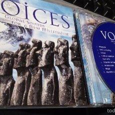 CDs de Música: VOICES - GLOBAL SOUNDS FOR A NEW MILLENNIUM - NEW AGE / ÈTNICA - CD. Lote 56731696
