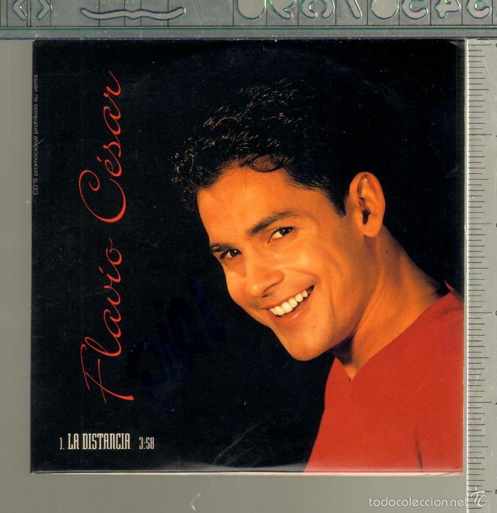MUSICA GOYO - CD SINGLE - FLAVIO CESAR - LA DISTANCIA - *CC99 (Música - CD's Melódica )