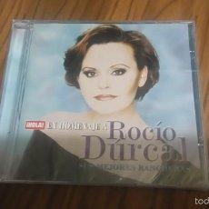 CDs de Música: ROCIO DÚRCAL. SUS MEJORES RANCHERAS. HOLA EN HOMENAJE. CD CON 5 TEMAS. PRECINTADO. SIN ABRIR. RARO. Lote 56747838