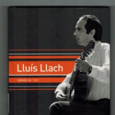 CDs de Música: CD LIBRO LLUIS LLACH - VERGES 50. 1980. Lote 56801276