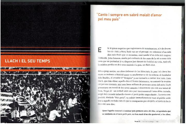 CDs de Música: CD LIBRO LLUIS LLACH - VERGES 50. 1980 - Foto 3 - 56801276