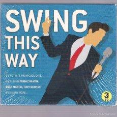 CDs de Música: VARIOS: SINATRA, DEAN MARTIN, TONY BENNETT... - SWING THIS WAY (3 CD 2013, MCPS G03CD7322). Lote 56801645