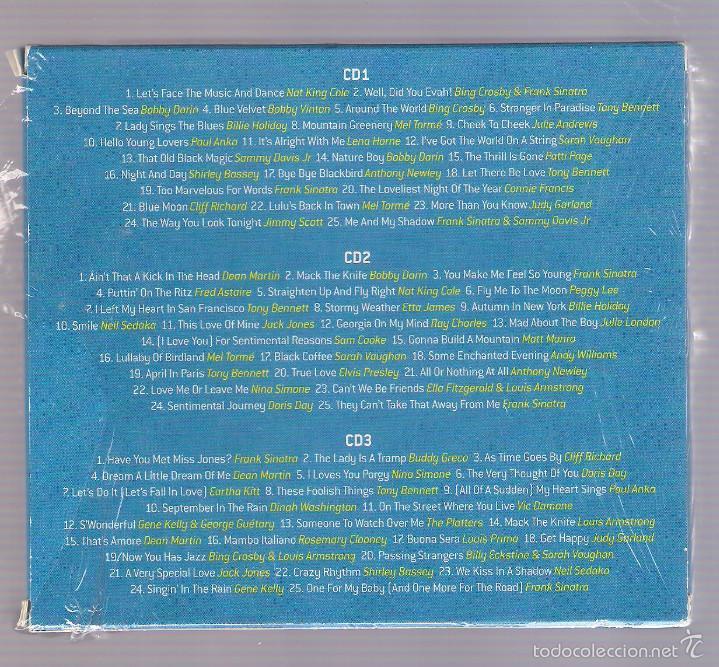 CDs de Música: VARIOS: Sinatra, Dean Martin, Tony Bennett... - SWING THIS WAY (3 CD 2013, mcps G03CD7322) - Foto 2 - 56801645