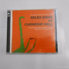 CDs de Música: MILES DAVIS AT CARNEGIE HALL. THE LEGENDARY PERFORMANCES OF MAY 19, 1961. TDKV6. Lote 56802942