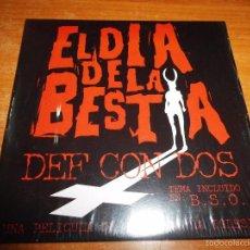 CDs de Música: DEF CON DOS EL DIA DE LA BESTIA BANDA SONORA CD SINGLE PROMO CARTON 2005 1 TEMA. Lote 56813160