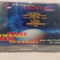 CDs de Música: PLEASURE DOME TWO CD. PIKOSSO RECORDS. HARD TRANCE, TECHNO. Lote 56831475