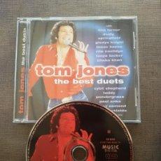 CDs de Música: CD - TOM JONES • THE BEST DUETS. Lote 56851266