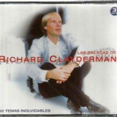 CDs de Música: TRIPLE CD LAS BALADAS DE RICHARD CLAYDERMAN ( 50 TEMAS !!!!!). Lote 56858438