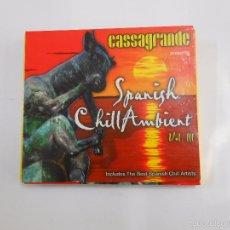 CDs de Música: CASSAGRANDE PRESENTS SPANISH CHILL AMBIENT. VOLUMEN III. 3. DOBLE CD. TDKV6. Lote 56887899