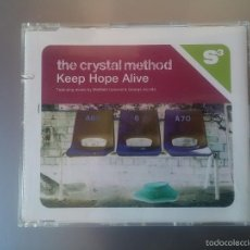 CDs de Música: THE CRYSTAL METHOD - KEEP HOPE ALIVE. Lote 56910756