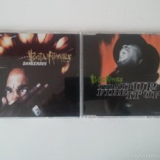 CDs de Música: BUSTA RHYMES - DANGEROUS / TURN IT UP. Lote 56911236
