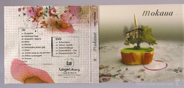 LOGELA MULTIMEDIA - MOKAUA (CD + DVD DIGIPAK) (Música - CD's Hip hop)