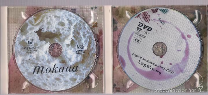 CDs de Música: LOGELA MULTIMEDIA - MOKAUA (CD + DVD digipak) - Foto 3 - 56926633