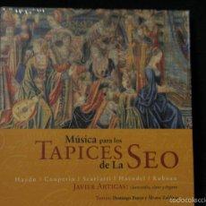 CDs de Música: CD MUSICA PARA LOS TAPICES DE LA SEO ARTIGAS ARAGÓN LCD PRAMES. Lote 56926986