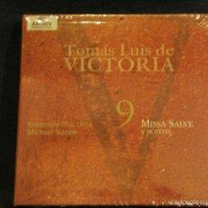 CDs de Música: CD TOMÁS LUIS DE VICTORIA ENSEMBLE PLUS ULTRA MISSA SALVE Y MOTETES ARCHIV PRODUKTION. Lote 56927033