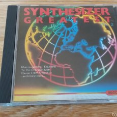 CDs de Música: SYNTHESIZER GREATEST VOL.2. Lote 56939439