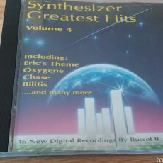 CDs de Música: SYNTHESIZER GREATEST HITS VOL.4. Lote 56939513