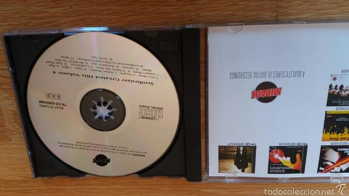 CDs de Música: SYNTHESIZER GREATEST HITS VOL.4 - Foto 2 - 56939513