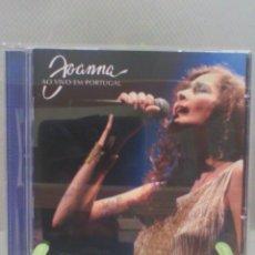 CDs de Música: CD JOANNA - AO VIVO EM PORTUGAL. Lote 56940283