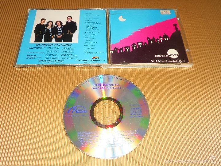 CONTRAPUNTO ( NUESTRO ECUADOR ) - CD - VIVA QUITO - LA TUNA QUITEÑA - TORO BARROSO ...- CONTRA PUNTO (Música - CD's Latina)