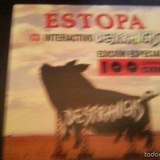 CDs de Música: ESTOPA - CD INTERACTIVO DESTRANGIS - EDICIÓN ESPECIAL CADENA 100. Lote 207262751