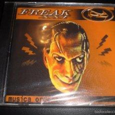 CDs de Música: FREAK XXI MUSICA ORDENADA CD 2002 ESPAÑA | SEALED |PRECINTADO. Lote 56945112