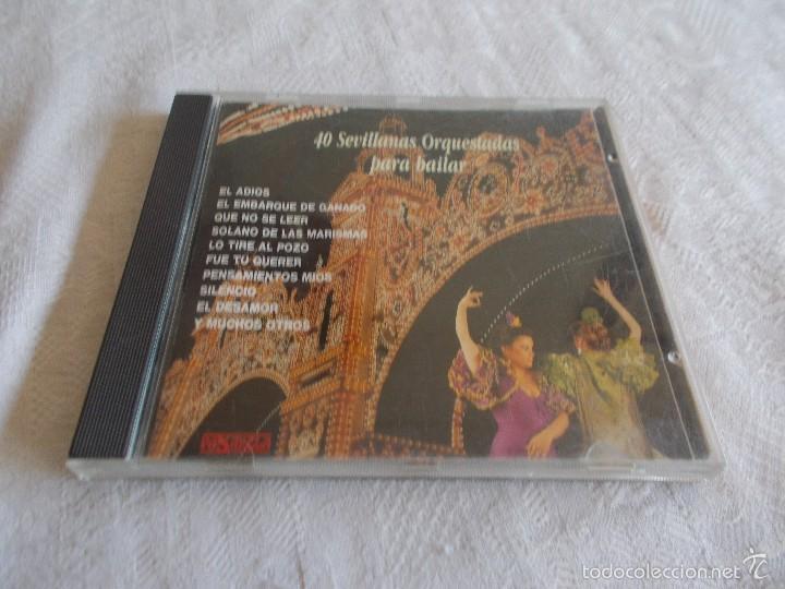 40 SEVILLANAS ORQUESTADAS PARA BAILAR (Música - CD's Flamenco, Canción española y Cuplé)