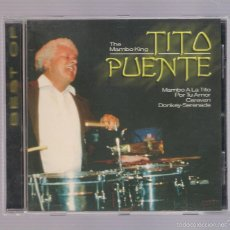 CDs de Música: TITO PUENTE - BEST OF THE MAMBO KING TITO PUENTE (CD EURO TREND CD 152.423) . Lote 56966650