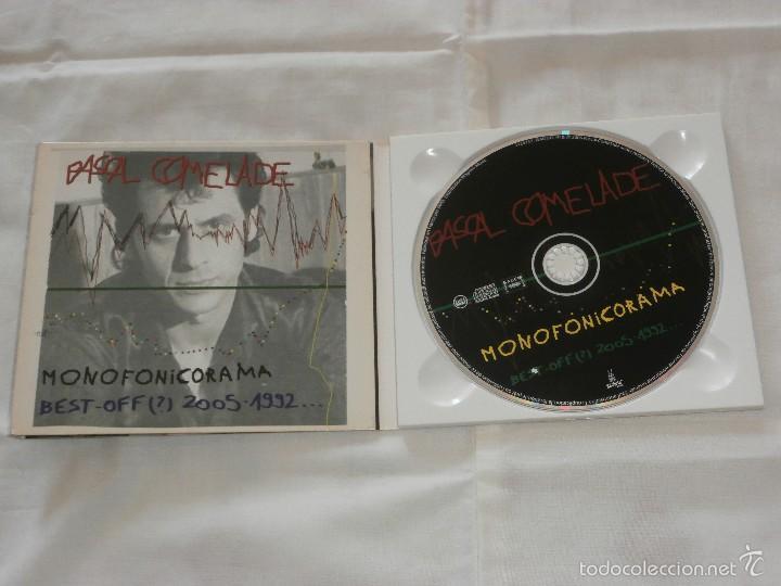 PASCAL COMELADE CD MONOFONICORAMA -BEST.OFF 2005-1992 (2006) COMO NUEVO-MUY RARO- (Música - CD's New age)