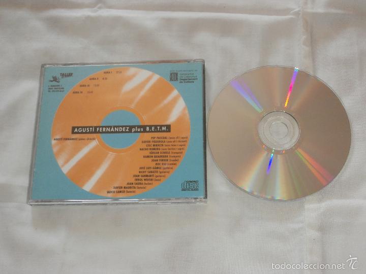 CDs de Música: AGUSTI FERNANDEZ plus BIG ENSEMBLE TALLER MUSICS -CD- AURA I, II, III (1993) COMO NUEVO-COLECCIONI. - Foto 2 - 56973022