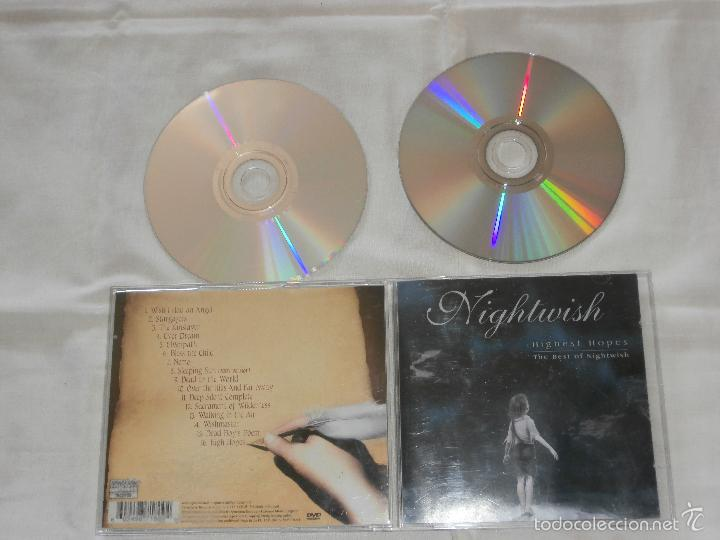 CDs de Música: NIGHTWISH 2 CD´S HIGHEST HOPES -THE BEST O NIGHTIVISH (2005) -BUENA CONDICON -EDIC. ORIG. FINLANDIA - Foto 2 - 56973519