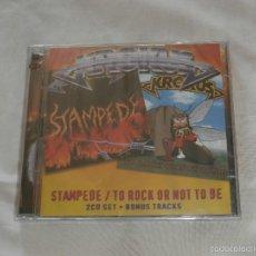 CDs de Música: KROKUS 2 CD´S STAMPEDE / TO ROCK OR NOT TO BE **NUEVO A ESTRENAR* PRECINTADO. Lote 56973901