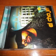 CDs de Música: EL CHOJIN CUANDO HAY OBSTACULOS CD ALBUM DEL AÑO 2002 CONCHA BUIKA MEKO AQUEEL M. THOMAS HIP HOP. Lote 86046588