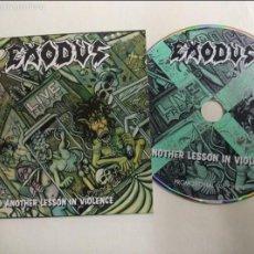 CDs de Música: EXODUS , CD PROMO 12 TEMAS. Lote 56987038