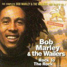 CDs de Música: BOB MARLEY & THE WAILERS - ROCK TO THE ROCK - CD ALBUM - 16 TRACKS - EMI MUSIC FRANCE 1997. Lote 56987532