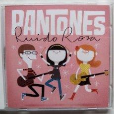 CDs de Música: PANTONES. RUIDO ROSA. CD SUBTERFUGE RECORDS 21898SUB. ESPAÑA 2012. POWER POP. MADRID.. Lote 56989276