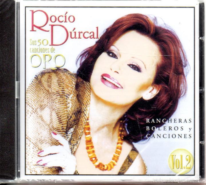 . CD ROCIO DURCAL SUS 50 CANCIONES DE ORO VOL2 PRECINTADO (Música - CD's Flamenco, Canción española y Cuplé)