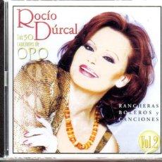 CDs de Música: . CD ROCIO DURCAL SUS 50 CANCIONES DE ORO VOL2 PRECINTADO. Lote 100009732