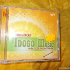 CDs de Música: BUDI SIEBERT. IDOGO MUSIC. FOR TAI CHI, CHI KUNG AND CHILL-OUT. CD. IMPECABLE. Lote 57046141
