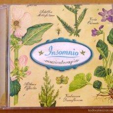 CDs de Música: MUSICOTERAPIA - INSOMNIO (CD). Lote 57046537