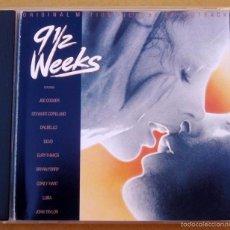CDs de Música: 9 SEMANAS Y MEDIA - JOHN TAYLOR, BRYAN FERRY, JOE COCKER, EURYTHMICS, ... (CD 1986). Lote 57046735