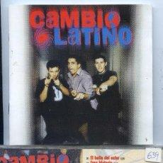 CDs de Música: CAMBIO LATINO / SAME (CD EMI 2000). Lote 57052007