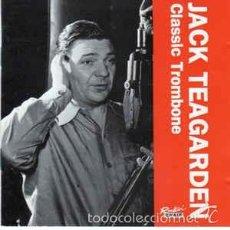 CDs de Música: JACK TEAGARDEN - CLASSIC TROMBONE (CD JAZZ). Lote 57060019