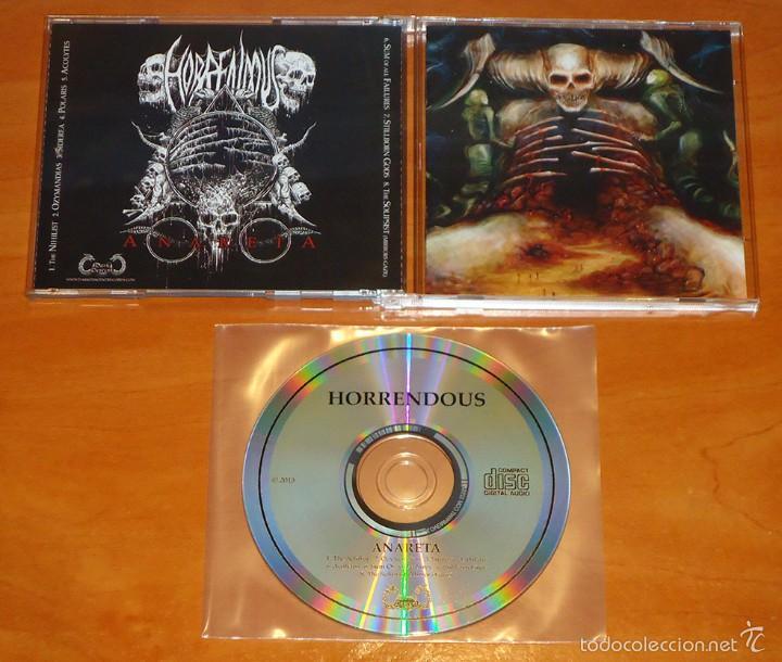 HORRENDOUS - ANARETA - CD - [DARK DESCENT RECORDS, 2015] (Música - CD's Heavy Metal)