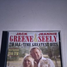 CDs de Música: JACK GREENE & JEANNIE SEELY-20 ALL-TIME GREATEST HITS-KING RECORDS-N.. Lote 57083794
