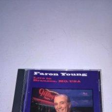 CDs de Música: FARON YOUNG-LIVE IN BRANSON,MO,USA-CD-DELTA MUSIC-N.. Lote 57083977