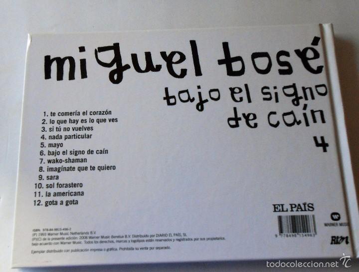 CDs de Música: MIGUEL BOSE - BAJO EL SIGNO DE CAIN - Foto 5 - 57086081