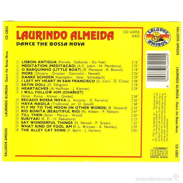 CDs de Música: LAURINDO ALMEIDA - DANCE THE BOSSA NOVA (CD JAZZ/BOSSA NOVA) - Foto 2 - 57087809