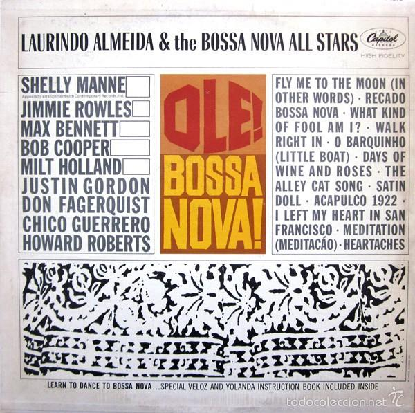 CDs de Música: LAURINDO ALMEIDA - DANCE THE BOSSA NOVA (CD JAZZ/BOSSA NOVA) - Foto 5 - 57087809