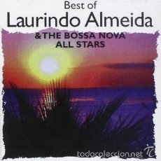 CDs de Música: BEST OF LAURINDO ALMEIDA & THE BOSSA NOVA ALL STARS (JAZZ CD BOSSA NOVA). Lote 57088054